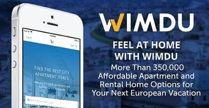 Feel at Home with Wimdu — More Than 350,000 Affordable Apartment and Rental Home Options for Your Next European Vacation