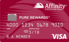A Photo of the Affinity Pure Rewards Visa