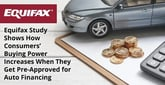Equifax Study Shows How Consumers' Buying Power Increases When They Get Pre-Approved for Auto Financing