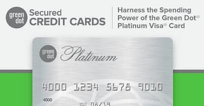 Consumers Don't Need a Bank Account to Harness the Spending & Credit-Building Power of the Green Dot® Platinum Visa®