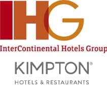Logos for IHG and the Kimpton Group
