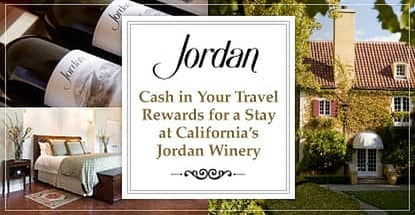 Cash In Your Travel Rewards For A Stay At Californias Jordan Winery
