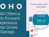 The KOHO Smart Spending Account Offers Users a Tech-Forward Experience that Grows Savings