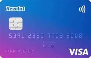 Image of the Revolut Visa Card