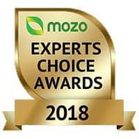 A Photo of Mozo's Experts Choice Award Badge