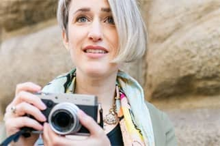 A Photo of Alexandra Korey, Founder of ArtTrav