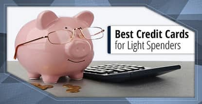 Best Credit Cards For Light Spenders