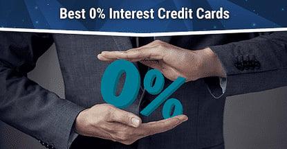 18 Best 0% Interest Credit Cards for 2020