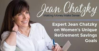 Expert Jean Chatzky Discusses Womens Unique Retirement Savings Goals
