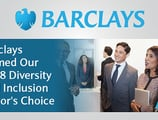 Barclays: Our 2018 Editor's Choice™ Award Recipient for Diversity and Inclusion Practices that Help Employees and Customers Feel Welcome