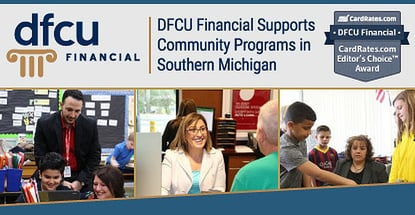 DFCU Financial Earns Our Editor's Choice™ Award for Supporting Education and Healthcare Programs in Southern Michigan
