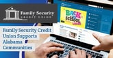 Family Security Credit Union Earns Our Editor's Choice™ Award for Helping Alabama Communities Through Charitable Giving and Volunteerism