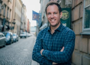 Photo of Qapital CEO George Friedman