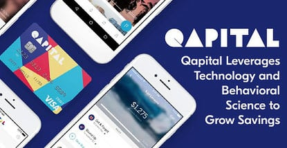 Qapital Leverages Innovative Technology and Behavioral Science to Help Members Reach Their Financial Goals