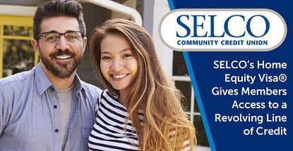 Selco Offers A Home Equity Visa Card