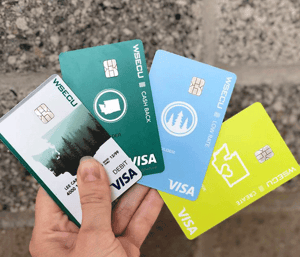 Photo of WSECU Visa Card Offerings