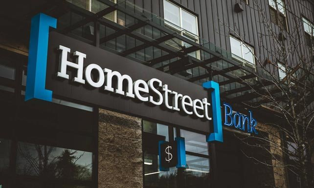 Photo of HomeStreet Bank's signage