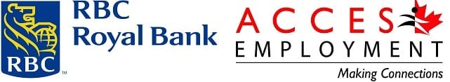 RBC & ACCES Employment Logos