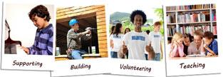Photos of how NYCB gives back