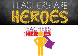 MECU Teachers Are Heroes logo