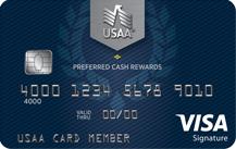 USAA Preferred Cash Rewards Visa Signature® Card