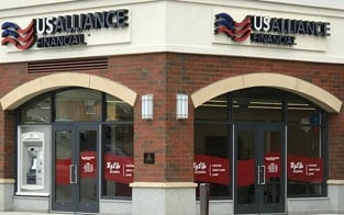 Photo of a USAlliance branch location