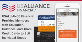 USALLIANCE Financial Provides Members with Education, Guidance, and Three Credit Cards to Suit Individual Needs