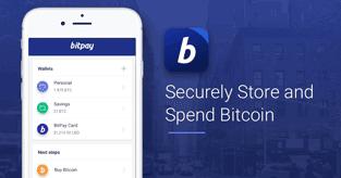BitPay screenshot