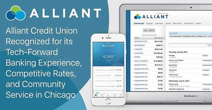 Alliant Credit Union Recognized For Digital Banking Rates And Service