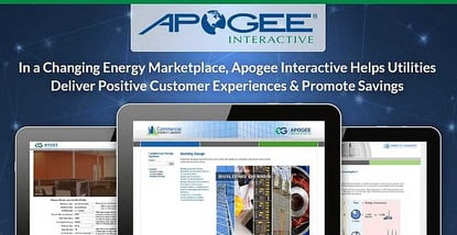 Apogee Interactive Helps Utilities Deliver Positive Customer Experiences