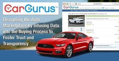 Cargurus Disrupts The Auto Marketplace