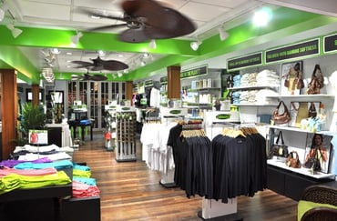 An image of the inside of a Cariloha store
