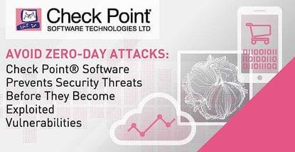 Check Point Software Prevents Zero Day Attacks
