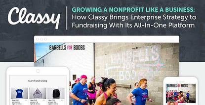 Classy Brings Enterprise Strategy To Nonprofits