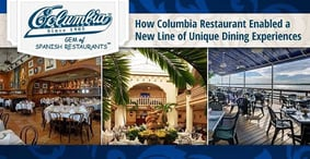 How the Success of Columbia Restaurant Enabled a New Line of Unique Dining Experiences Rooted in Heritage and History