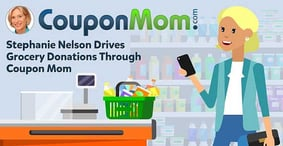 Stephanie Nelson Uses the Power of Coupon Mom to Drive Donations Through Grocery Savings