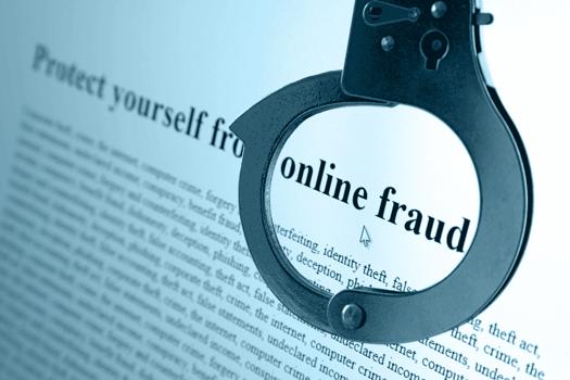 Online Fraud Stock Photo