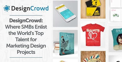 DesignCrowd: Where SMBs Enlist the World's Top Talent for Marketing Design Projects