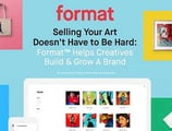 Selling Your Art Doesn't Have to Be Hard — Format™ Helps Creatives Build & Grow A Brand