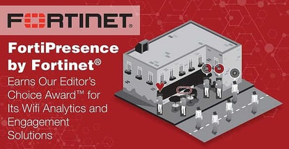 Fortinets Fortipresence Earns Award For Wifi Analytics
