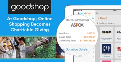 At Goodshop, Online Shopping Becomes Charitable Giving at No Cost to the Consumer