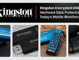 Kingston Encrypted USB Drives: Hardware Data Protection for Today's Mobile Workforce
