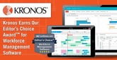 Kronos Earns Our Editor's Choice Award™ for Workforce Management Software