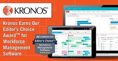 Kronos Earns Award For Workforce Management Software