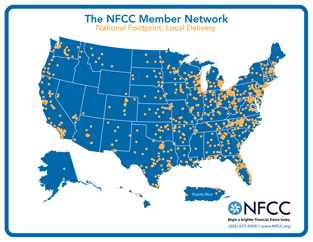 NFCC Locations Map
