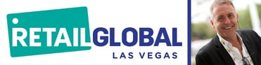 Photo of Retail Global logo and Phil Leahy