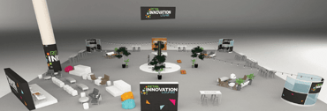 Artist's rendering of Retail Innovation Lab at Shop.org 2017