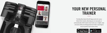 Screenshot of SelectTech mobile app
