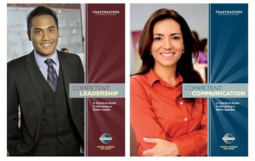 Collage of Competent Leadership and Competent Communications manuals