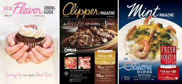 A screenshot of Clipper Magazine and other affiliated publications